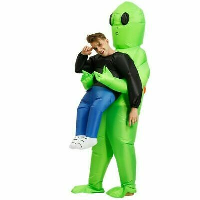 $ CDN37.60 • Buy Inflatable Alien Hug From Back Costume For Halloween Party Adult Green Cosplay