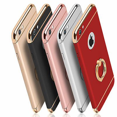 AU7.14 • Buy Shockproof Hybrid Body Ultra Thin Case With Ring Holder For IPhone 8 7 8+ 7+ SE