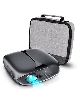 3D  1080p Full HD Portable Mini Video Projector Support Built-in WiFi • 89.50£