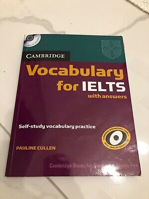 £13 • Buy Cambridge Vocabulary For IELTS With Answers (incl. CD)