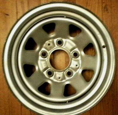 AU153.53 • Buy 1980 1990 Ford OEM Steel Wagon Wheel 15 X 8 Rim F150 Bronco Original 5 Lug 5.5