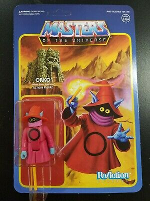 $16 • Buy Super7 Masters Of The Universe Orko ReAction Figure MOTU Unpunched Card