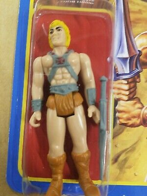 $24 • Buy Super7 Masters Of The Universe He-Man ReAction Figure. Wave 1 Unpunched Card