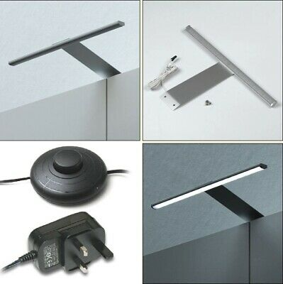 £28 • Buy Over Cabinet Led Lighting Downlight Kit With Power Adaptor And Foot Switch