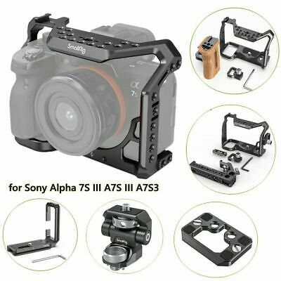 AU50.34 • Buy SmallRig Camera Cage/Monitor Mount/L-Bracket For Sony Alpha 7S III A7S III A7S3