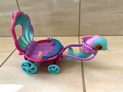 My Little Pony Carriage Dolphin Sea Shell 2009 • 2.99£