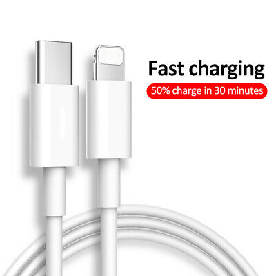 £2.99 • Buy Iphone 12,12 Pro, Max ,Iphone 11 USB Type C Fast Charger 3.1A Data Sync Cable