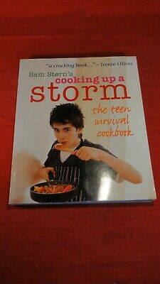 £2.99 • Buy Sam Stern's Cooking Up A Storm The Teen Survival Book Paperback