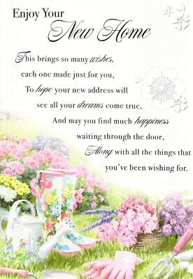 £1.68 • Buy New Home - Gardening - Greeting Card - Free Postage