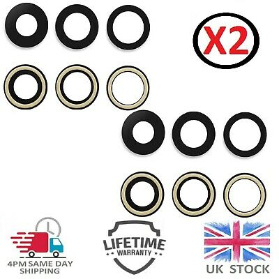 £2.99 • Buy For IPhone 12 Pro Max Camera Lens Replacement Rear Back Camera Glass Kit X 2