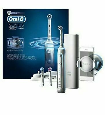 AU155.55 • Buy Oral-B Genius 8000 Electric Toothbrush Set