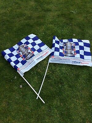 £4.99 • Buy Chelsea V Everton 2009 FA Cup Final Flag X2