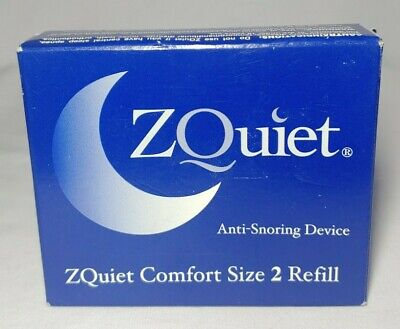 $ CDN60.65 • Buy ZQuiet Anti-Snoring Device SINGLE Size 2 Refill ZQuiet Comfort (ZQRC2-BX)