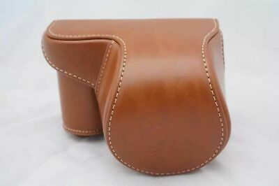 AU24.22 • Buy A6400 Camera Leather Case Bag Strap For Sony A6400 A6300 A6000 Camera Brown