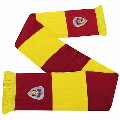 $ CDN15.45 • Buy Official Harry Potter Hogwarts Extra Wide Acrylic Scarf With Embroidered Crest