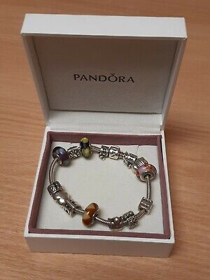 £89.95 • Buy Pandora Braclet With Charms HY 99701