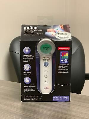 $ CDN64.99 • Buy Braun Bnt400ca No Touch + Forehead Thermometer Brand New