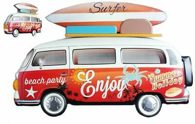 £39.95 • Buy Camper Van Contemporary Metal Wall Art Decor Sculpture Campervan Home Decor Gift