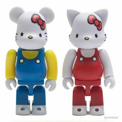 $59.99 • Buy Hello Kitty Bearbrick And Nyabrick 100% Figure 2-Pack Set By Medicom Toy