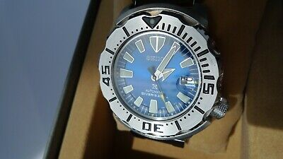 $ CDN1039.35 • Buy Seiko SBDC067 Prospex Blue Monster Mechanical Automatic Diver 6R15 02X0 Japan