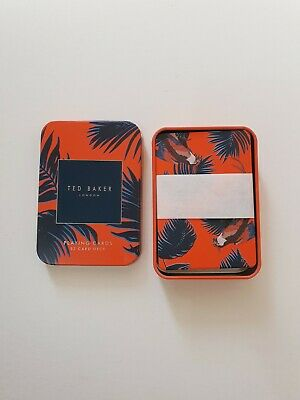 £9.99 • Buy New Ted Baker Playing Cards 52 Card Deck In Tin