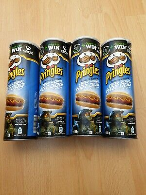 £14 • Buy 4 X Pringles New York Hot Dog Flavour Limited Edition 165g  Tubes - FREE UK P&P
