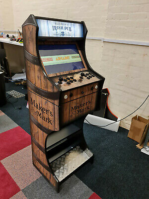 £799.99 • Buy Arcade Machine 2 Player - Barrell Themed Design Whopping 8000 Games Included