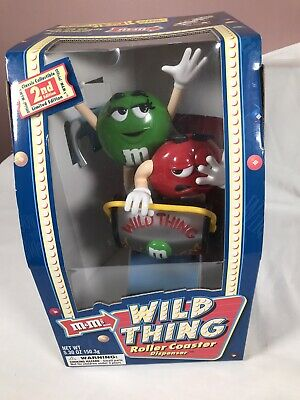 £34.99 • Buy M&M's Wild Thing Rollercoaster Sweet Chocolate Candy Dispenser Collectibles