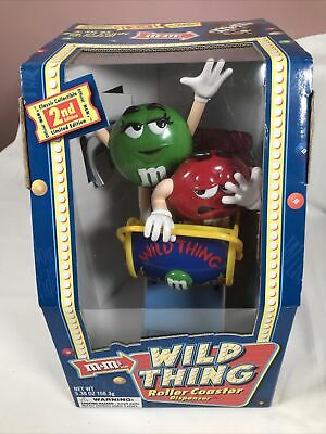 £34.99 • Buy M&M's Wild Thing Rollercoaster Sweet Chocolate Candy Dispenser Collectibles (2)