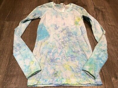 $ CDN160 • Buy Lululemon Seawheeze Tie Dye Run Swiftly Long Sleeve Size 4