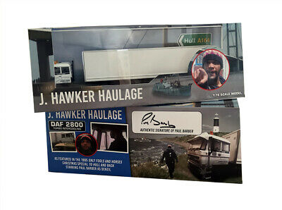 £39.99 • Buy Only Fools And Horses Denzils Lorry Hull & Back Diecast Scale 00 SIGNED Version