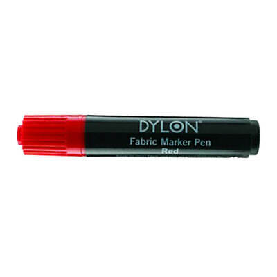 £8.56 • Buy DYLON Textile Pens Red Permanent Marker For All Fabrics T-Shirt Dress
