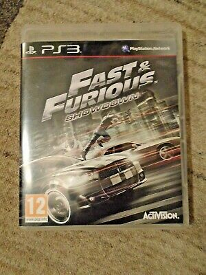 £11.99 • Buy Fast And Furious Showdown - PlayStation 3 - PAL UK - Complete - VGC