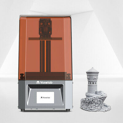 Used Voxelab Proxima 3D Printer 6  Photocuring Resin High Precision 130*78*155mm • 89.50£
