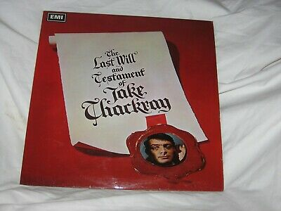 £12.99 • Buy Jake Thackray LP.The Last Will And Testament
