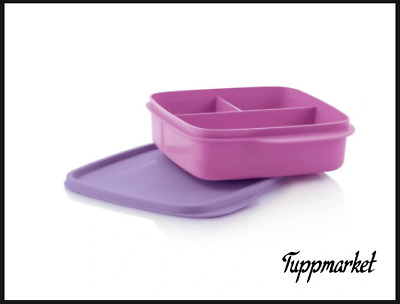 £5.99 • Buy TUPPERWARE Divided Lunch Meal Box 550ml Special Offer