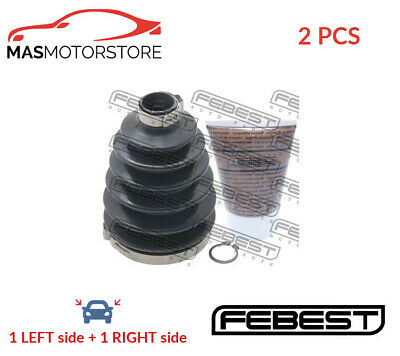 AU104.91 • Buy Cv Joint Boot Kit Pair Febest 0417p-cu2 2pcs A For Mitsubishi Lancer Vii