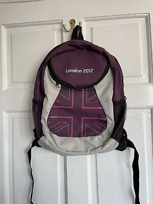 £10 • Buy London Olympics Event Purple Backpack 2012 - Great Condition