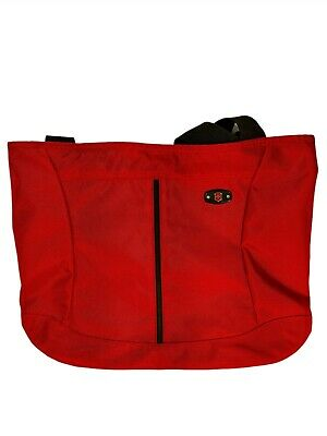 Victorinox Tote Bag Red Nylon Swiss Army Great Condition • 20.16£