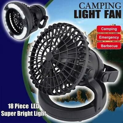 £9.83 • Buy Portable Tent LED Light Lamps Fan Camping Hiking Outdoors Equipment Ceiling New