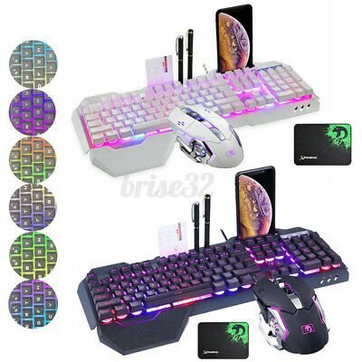 AU33.90 • Buy K680 Gaming Keyboard Mouse And Pad Set 2.4G Wireless LED Backlight Fo