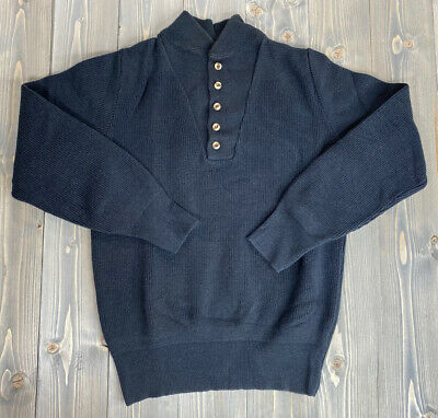$20 • Buy Alps Rugged Outdoors Sweater Mens Size Large Henley Buttons