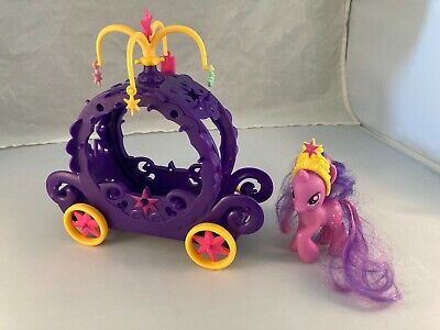 My Little Pony Twilight Sparkle's Charm Carriage With 4 Charms And Pony MLP FiM • 21.20£