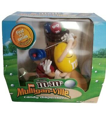 $22.99 • Buy M&M's Mulligan-ville Candy Dispenser Limited Edition Golf New Open Box RARE