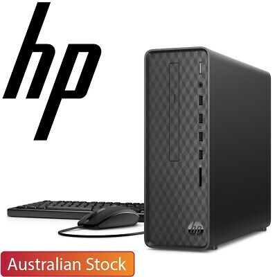 AU559 • Buy HP Slim Desktop S01 AMD Athlon 3050U 4GB RAM 256GB SSD Windows 10 Home PC