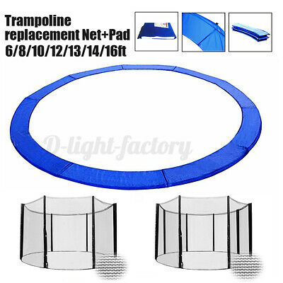 AU38.31 • Buy Trampoline Safety Spring Frame Pad Cover Replacement Reinforced Round