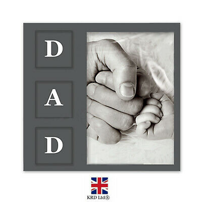 £3.99 • Buy Father's Day Photo Picture Frame Best Dad Portrait Birthdays Gifts Decor G3791
