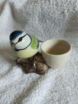 £12.99 • Buy Beautiful Quail Blue Tit Eggcup/egg Cup Unused And In Ex Cond