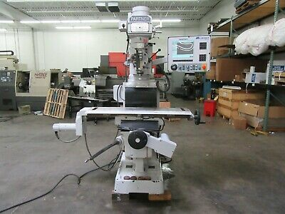 $12500 • Buy Milltronics Partner VKM3 CNC 3-Axis Vertical Knee Mill, Variable Speed Spindle