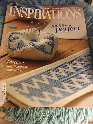 £3.99 • Buy Inspirations Magazine Embroidery Picture Perfect